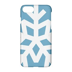 Snowflake Snow Flake White Winter Apple Iphone 7 Hardshell Case