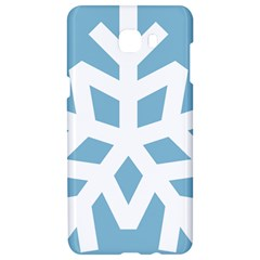 Snowflake Snow Flake White Winter Samsung C9 Pro Hardshell Case