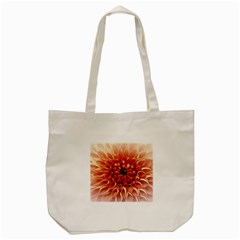 Dahlia Flower Joy Nature Luck Tote Bag (cream)