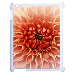 Dahlia Flower Joy Nature Luck Apple Ipad 2 Case (white) by Nexatart