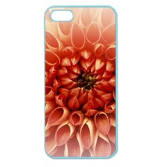 Dahlia Flower Joy Nature Luck Apple Seamless Iphone 5 Case (color)