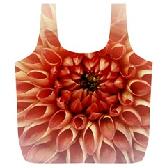 Dahlia Flower Joy Nature Luck Full Print Recycle Bags (l)