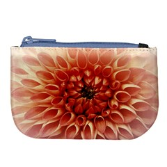 Dahlia Flower Joy Nature Luck Large Coin Purse