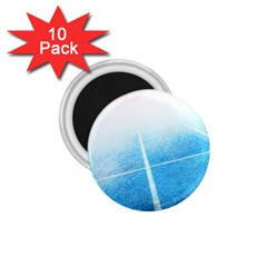 Court Sport Blue Red White 1 75  Magnets (10 Pack)