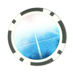 Court Sport Blue Red White Poker Chip Card Guard (10 Pack)