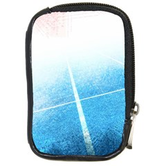 Court Sport Blue Red White Compact Camera Cases by Nexatart