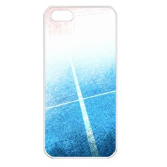 Court Sport Blue Red White Apple Iphone 5 Seamless Case (white)