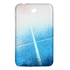 Court Sport Blue Red White Samsung Galaxy Tab 3 (7 ) P3200 Hardshell Case  by Nexatart