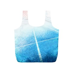 Court Sport Blue Red White Full Print Recycle Bags (s)  by Nexatart