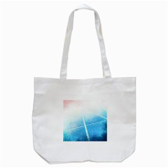 Court Sport Blue Red White Tote Bag (white)