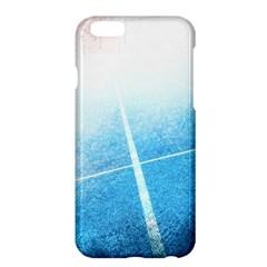 Court Sport Blue Red White Apple Iphone 6 Plus/6s Plus Hardshell Case
