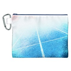 Court Sport Blue Red White Canvas Cosmetic Bag (xxl) by Nexatart