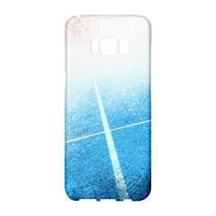 Court Sport Blue Red White Samsung Galaxy S8 Hardshell Case
