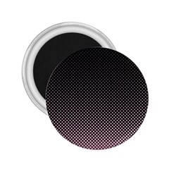 Halftone Background Pattern Black 2 25  Magnets