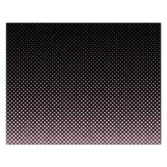 Halftone Background Pattern Black Rectangular Jigsaw Puzzl