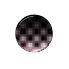 Halftone Background Pattern Black Hat Clip Ball Marker (10 Pack)