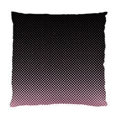 Halftone Background Pattern Black Standard Cushion Case (one Side)