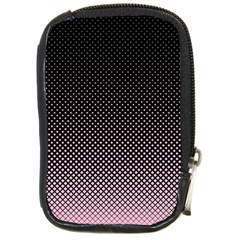 Halftone Background Pattern Black Compact Camera Cases by Nexatart