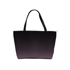 Halftone Background Pattern Black Shoulder Handbags by Nexatart