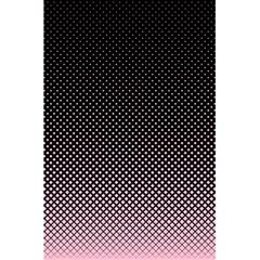 Halftone Background Pattern Black 5 5  X 8 5  Notebooks by Nexatart