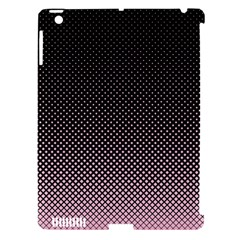 Halftone Background Pattern Black Apple Ipad 3/4 Hardshell Case (compatible With Smart Cover) by Nexatart