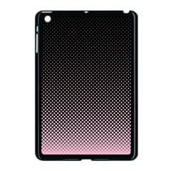 Halftone Background Pattern Black Apple Ipad Mini Case (black) by Nexatart