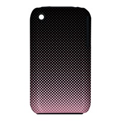 Halftone Background Pattern Black Iphone 3s/3gs