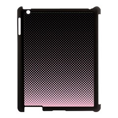 Halftone Background Pattern Black Apple Ipad 3/4 Case (black)