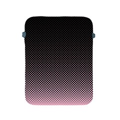Halftone Background Pattern Black Apple Ipad 2/3/4 Protective Soft Cases