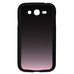 Halftone Background Pattern Black Samsung Galaxy Grand Duos I9082 Case (black)