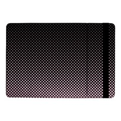 Halftone Background Pattern Black Samsung Galaxy Tab Pro 10 1  Flip Case