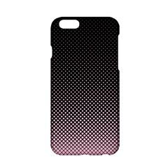 Halftone Background Pattern Black Apple Iphone 6/6s Hardshell Case