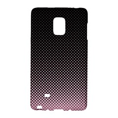 Halftone Background Pattern Black Galaxy Note Edge by Nexatart