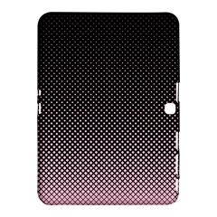 Halftone Background Pattern Black Samsung Galaxy Tab 4 (10 1 ) Hardshell Case