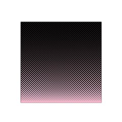 Halftone Background Pattern Black Satin Bandana Scarf