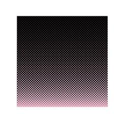 Halftone Background Pattern Black Small Satin Scarf (square)