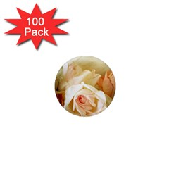 Roses Vintage Playful Romantic 1  Mini Magnets (100 Pack)  by Nexatart