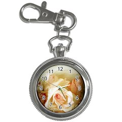 Roses Vintage Playful Romantic Key Chain Watches by Nexatart