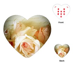 Roses Vintage Playful Romantic Playing Cards (heart)