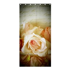 Roses Vintage Playful Romantic Shower Curtain 36  X 72  (stall)  by Nexatart