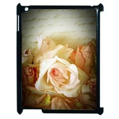 Roses Vintage Playful Romantic Apple Ipad 2 Case (black)