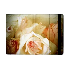 Roses Vintage Playful Romantic Apple Ipad Mini Flip Case