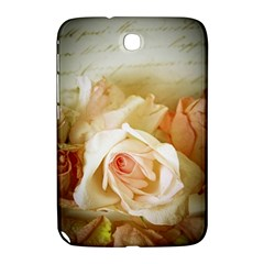 Roses Vintage Playful Romantic Samsung Galaxy Note 8 0 N5100 Hardshell Case  by Nexatart