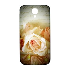 Roses Vintage Playful Romantic Samsung Galaxy S4 I9500/i9505  Hardshell Back Case