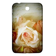 Roses Vintage Playful Romantic Samsung Galaxy Tab 3 (7 ) P3200 Hardshell Case  by Nexatart