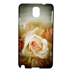 Roses Vintage Playful Romantic Samsung Galaxy Note 3 N9005 Hardshell Case