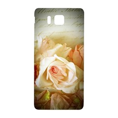 Roses Vintage Playful Romantic Samsung Galaxy Alpha Hardshell Back Case