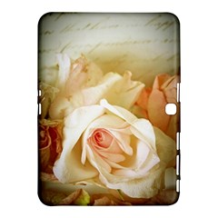 Roses Vintage Playful Romantic Samsung Galaxy Tab 4 (10 1 ) Hardshell Case  by Nexatart