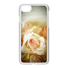 Roses Vintage Playful Romantic Apple Iphone 7 Seamless Case (white)