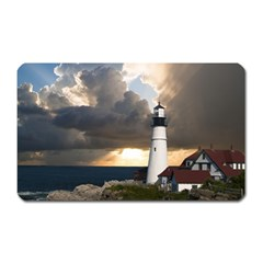 Lighthouse Beacon Light House Magnet (rectangular)